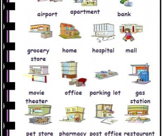 Buildings and Places Picture Dictionary