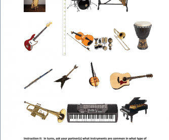 Musical Instruments and Music Genres