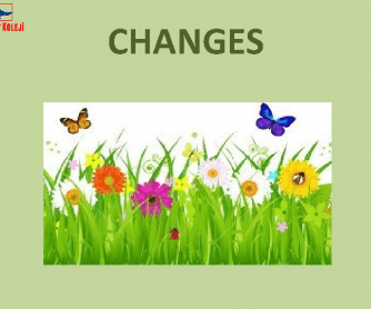 Changes In Our Life
