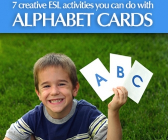 what you can do with alphabet cards 7 creative esl activities