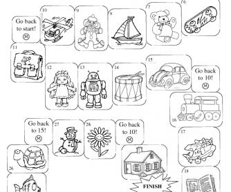 Colouring Board Game