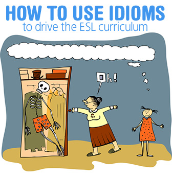 "Is He ""Mad About"" or ""Mad At"" Me? How to Use Idioms to Drive the ESL Curriculum"
