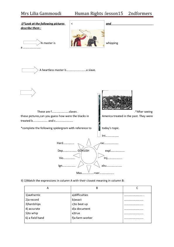 Printable Worksheets racism worksheets : Rights Lesson Plan: Racism