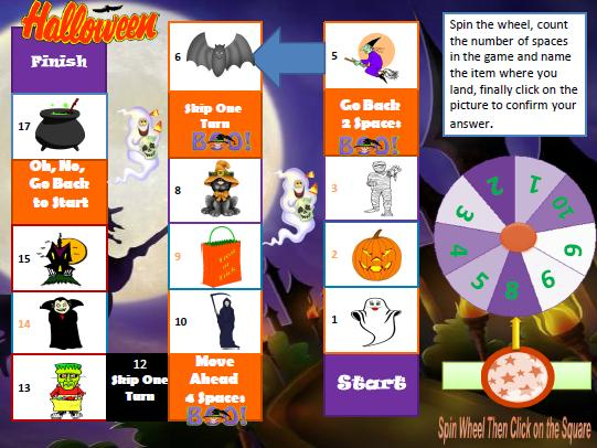 Halloween Clue Game