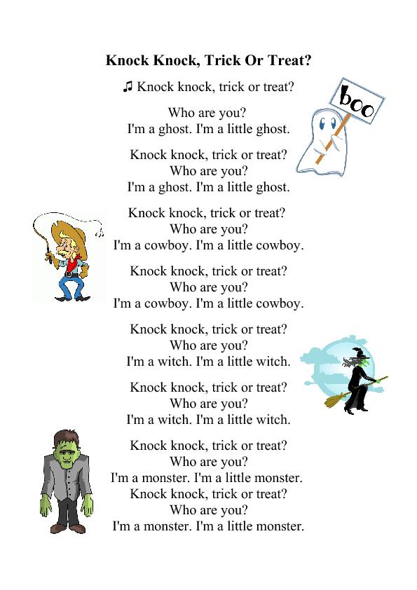 Halloween Song: