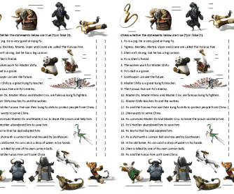 Movie Activity: Kung Fu Panda 2