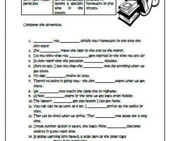 Future Perfect Intermediate Worksheet
