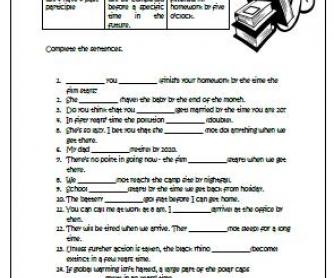 Future Perfect Intermediate Worksheet