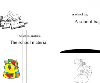 Thematic Book 1: Back to School