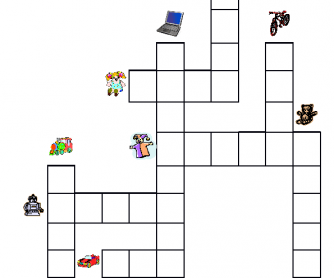 Toys Crossword