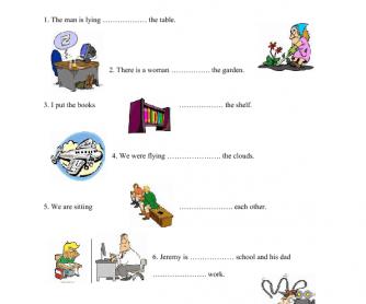 Basic Prepositions