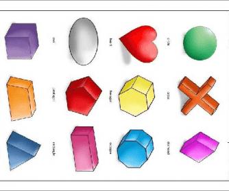 Yo-Yee Shape Worksheet / Pictionary