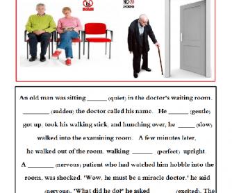 Joke - Adverb or Adjective?