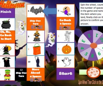 Halloween Boardgame: PDF Version