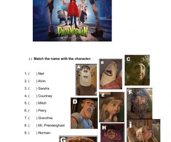 Movie Worksheet: Paranorman