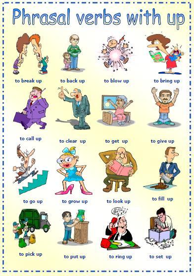 phrasal verbs with up worksheet