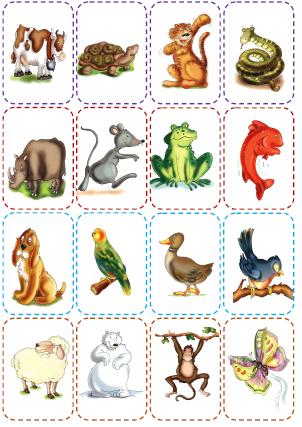 It's just a photo of Critical Animal Matching Game Printable