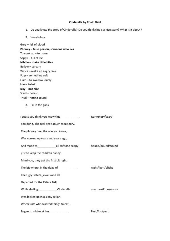 Roald Dahl Scripts – Idee Immagine Fiore