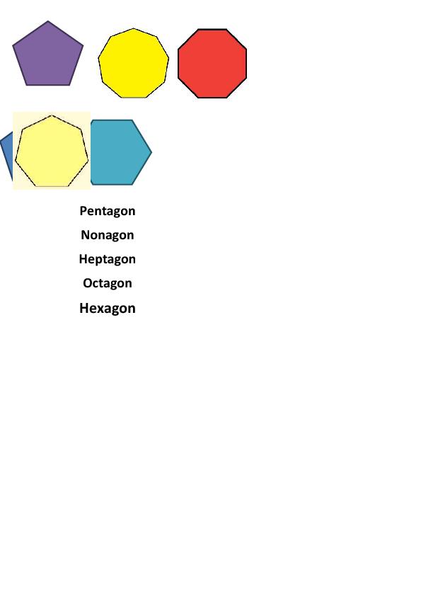 Shape Matching 5 Sides Plus