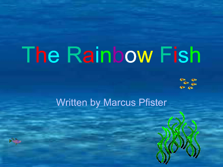 Fish Interractive Story PPT