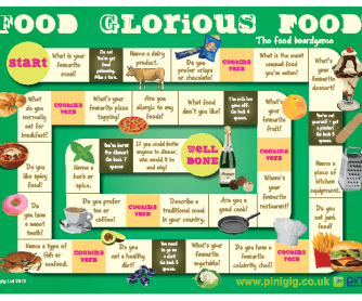 Food Glorious Food - Board Game