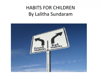 PPT On Habits For Children