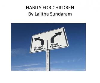 PPT On Habits For Children