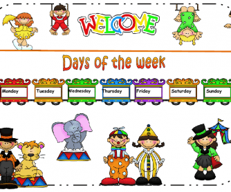 Days of the Week Classroom Poster