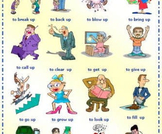 Phrasal Verbs with Up Worksheet