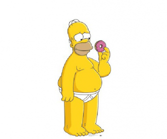 Parts of the Body - Homer Simpson
