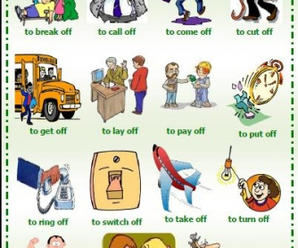 Phrasal Verbs With Off Worksheet