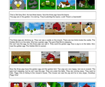 Video Worksheet: Angry and the Beanstalk
