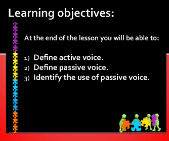 Passive Voice Presentation