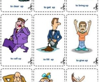 Phrasal Verbs with OFF and UP [Flashcards]