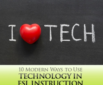 10 Modern Ways to Use Technology in ESL Instruction