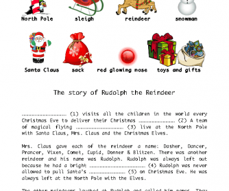 the story of rudolph the red nose reindeer
