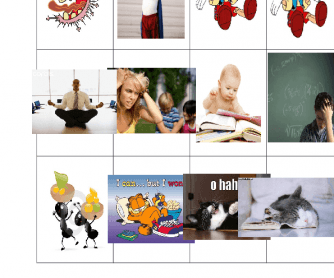 Describing Character Flashcards