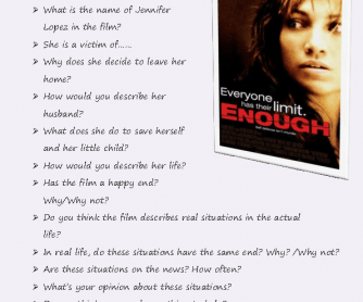 Movie Worksheet: Enough