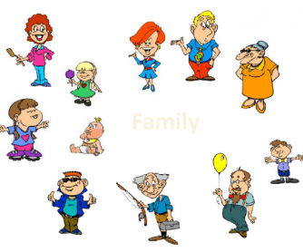 Members of the Family Powerpoint Presentation