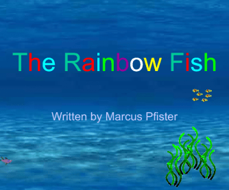 Rainbow Fish Interractive Story PPT