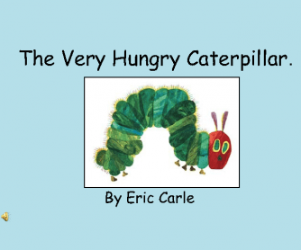 The Very Hungry Caterpillar: Interactive PPT