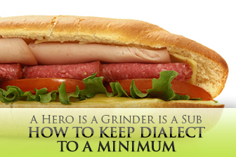 A Hero is a Grinder is a Sub: Quick Tips for Keeping Dialect to a Minimum in the Classroom
