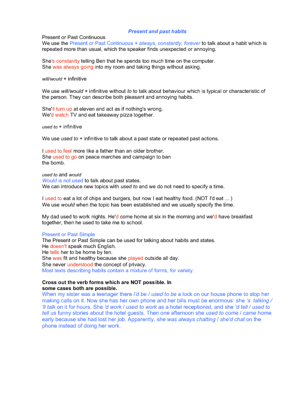 1354821630_present-and-past-habits English Grammar Worksheets Present Continuous on english greetings worksheet, english comparatives worksheet, english idioms worksheet, english future tense worksheet, english halloween worksheet, english indirect questions worksheet, english clothes worksheet, english numbers worksheet, english interrogative pronouns worksheet, english articles worksheet, english prepositions worksheet, english irregular verbs worksheet, english adjectives worksheet,