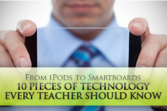 From iPods to Smartboards: 10 Types of Technology Every Teacher Should Know How to Use & 307 FREE Modern Technology Worksheets