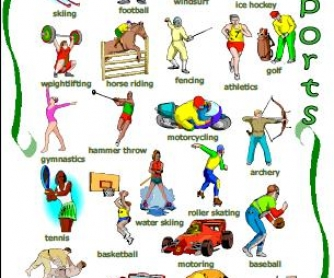 Sports Classroom Poster