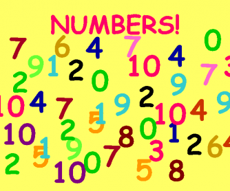 Numbers 0-12