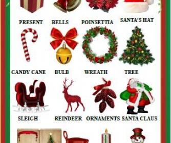 Christmas Classroom Poster
