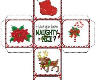 Christmas Dice