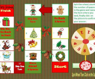 Christmas Interactive Boardgame