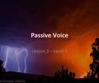 Passive Voice: PowerPoint Presentation and Practice